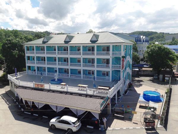 Гостиницы и отели адлера у моря